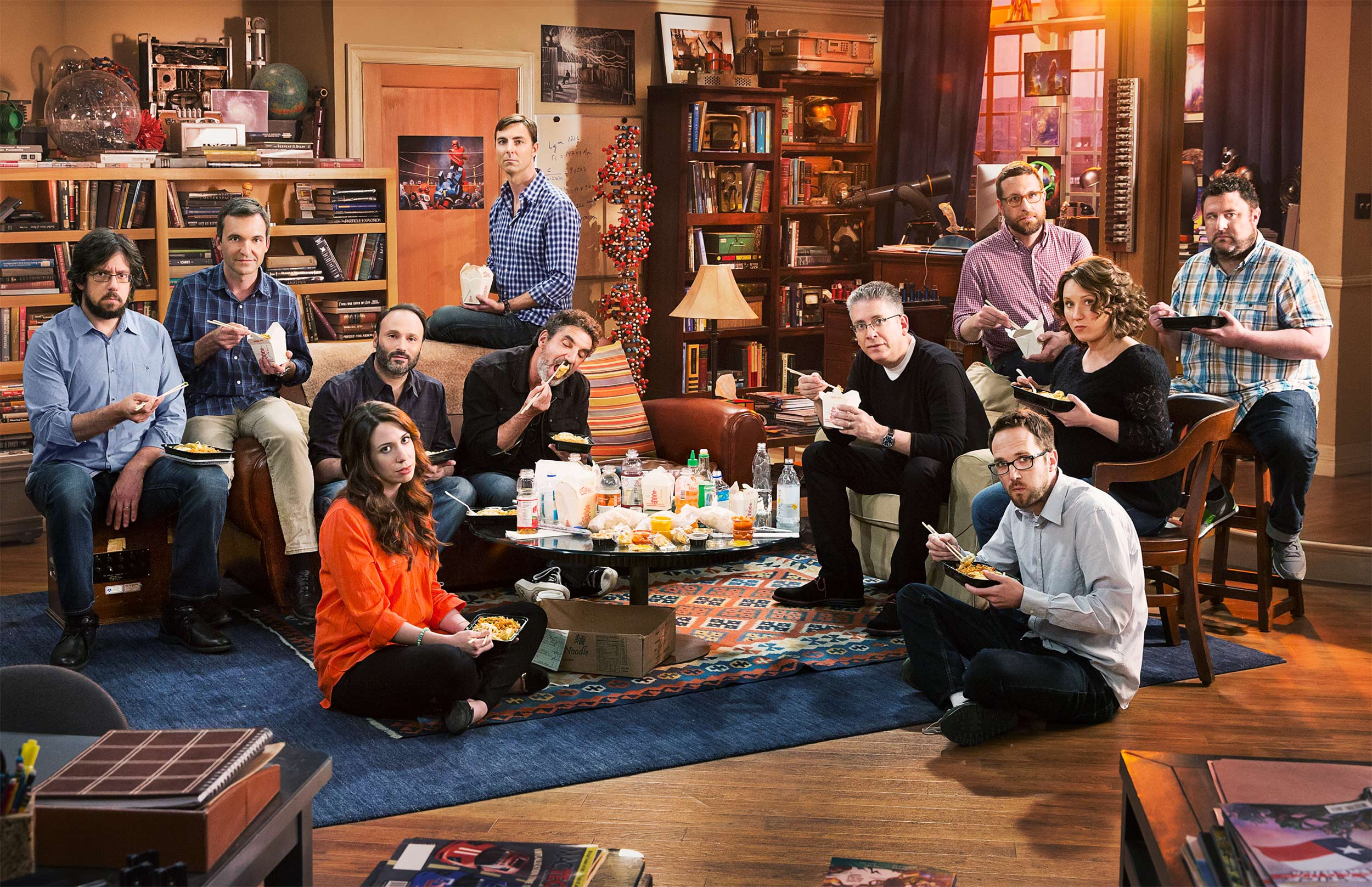 The Big Bang Theory Writers