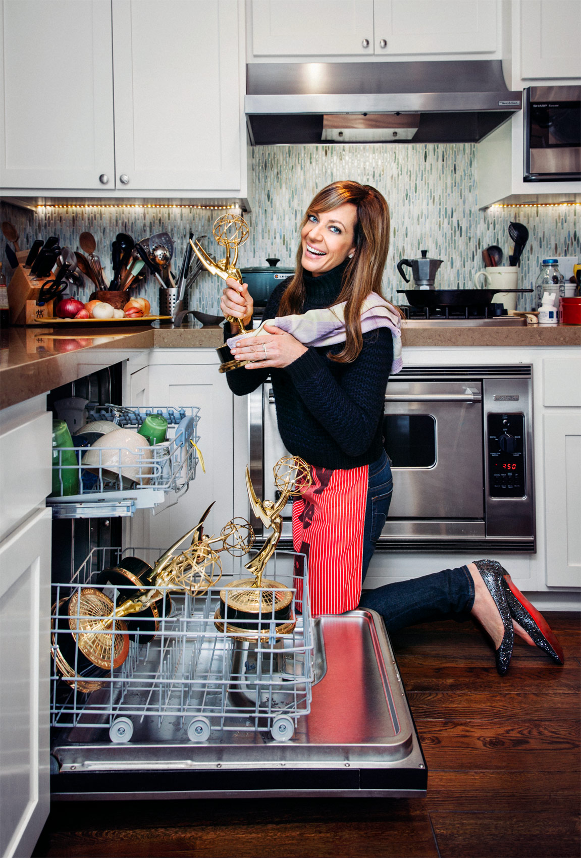 Allison Janney for Emmy Magazine