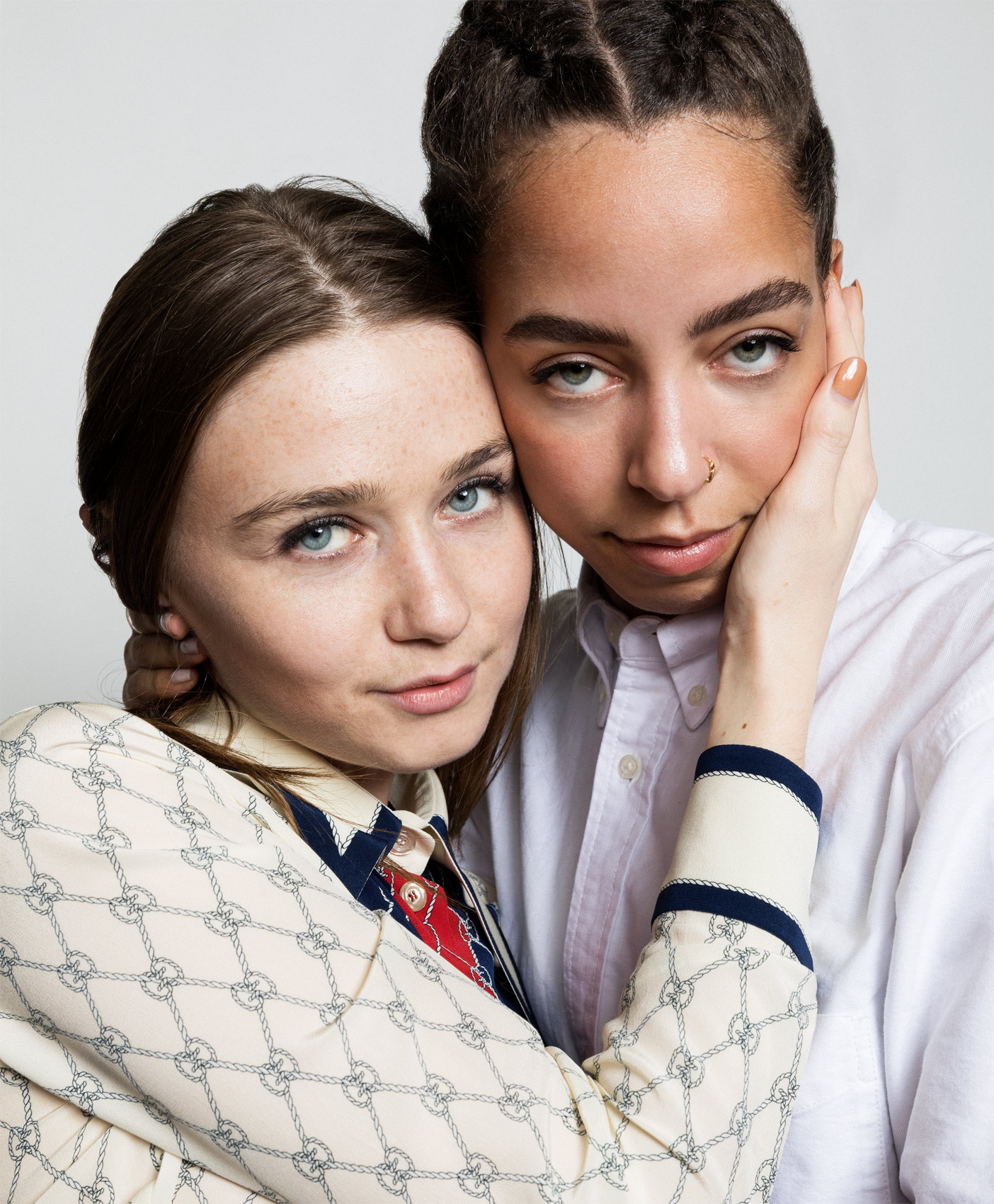 Hayley Law and Jessica Barden